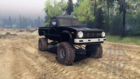 Toyota Hilux Truggy 1981 v1.1 black pour Spin Tires