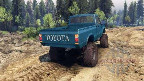 Toyota Hilux Truggy 1981 v1.1 blue für Spin Tires