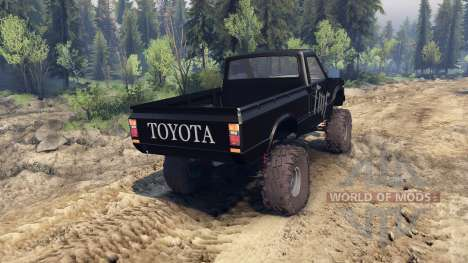 Toyota Hilux Truggy 1981 v1.1 fmf pour Spin Tires