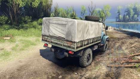 GAZ-3308 für Spin Tires