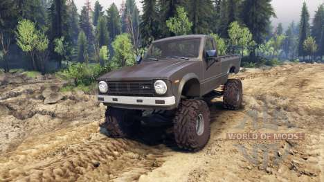 Toyota Hilux Truggy 1981 v1.1 gray pour Spin Tires
