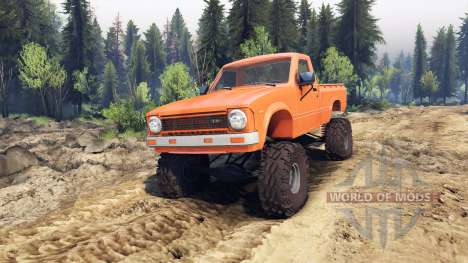 Toyota Hilux Truggy 1981 v1.1 orange für Spin Tires