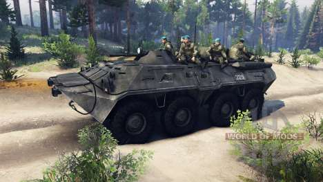 BTR-80 für Spin Tires