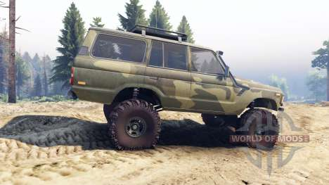Toyota Land Cruiser 60 pour Spin Tires