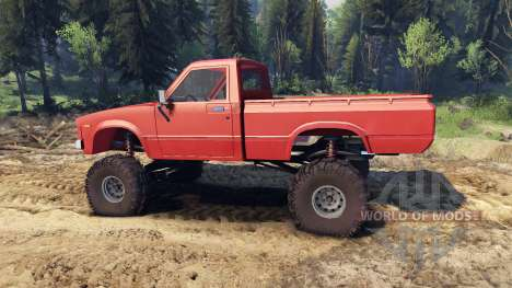 Toyota Hilux Truggy 1981 v1.1 red pour Spin Tires