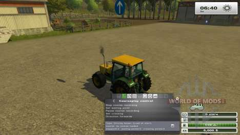 Courseplay 3.4 pour Farming Simulator 2013