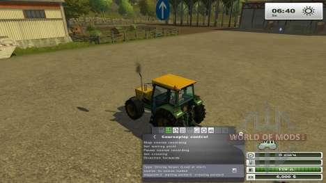Courseplay 3.4 pour Farming Simulator 2013