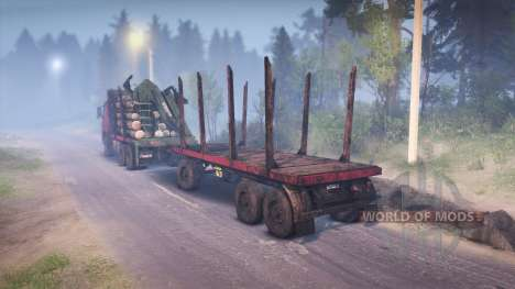 Volvo FM pour Spin Tires