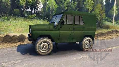 UAZ-469 B für Spin Tires