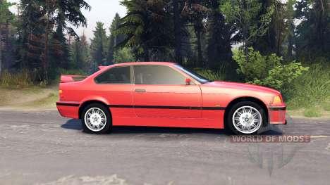 BMW M3 E36 pour Spin Tires