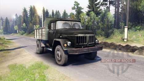 ZIL-130 MMZ-4502 für Spin Tires