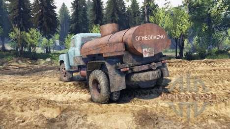 GAZ-53 bleu pour Spin Tires