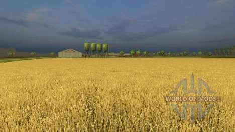 Kernstadt ohne welken Pflanzen für Farming Simulator 2013