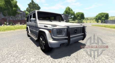 Mercedes-Benz G500 für BeamNG Drive