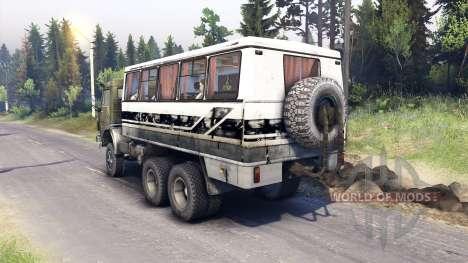 KamAZ-43101 [Final] pour Spin Tires