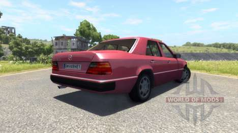 Mercedes-Benz W124 pour BeamNG Drive