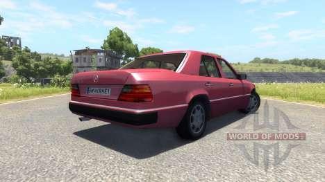Mercedes-Benz W124 für BeamNG Drive