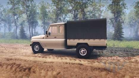 UAZ-2315 pour Spin Tires
