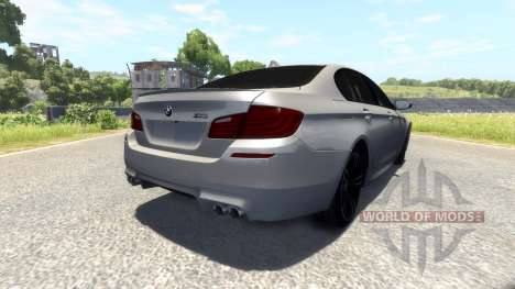 BMW F10 M5 2012 pour BeamNG Drive