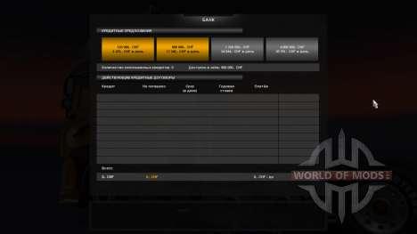 La Banque pour Euro Truck Simulator 2