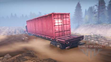Freightliner Century Class Day Cab pour Spin Tires