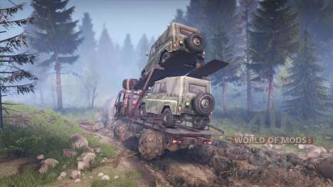 KamAZ Mongo [Final] pour Spin Tires