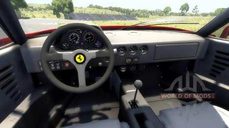 Ferrari F40 für BeamNG Drive