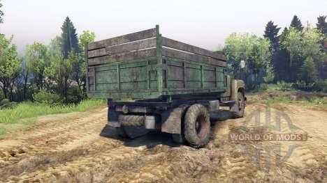 GAZ-53 vert pour Spin Tires