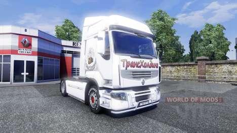 Sreen Schwellenwertbestimmung auf Traktor Renaul für Euro Truck Simulator 2