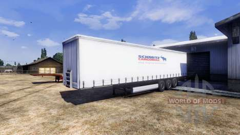 De la couleur pour semi-remorque Schmitz pour Euro Truck Simulator 2