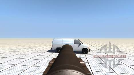 Mobile bombarder pour BeamNG Drive