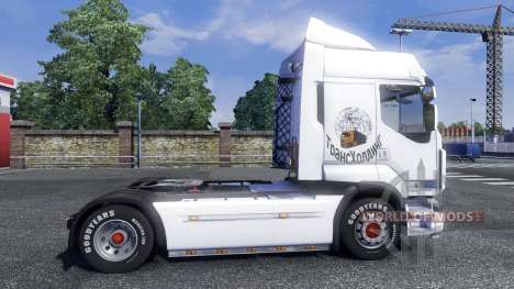 Sreen Seuillage sur tracteur Renault pour Euro Truck Simulator 2