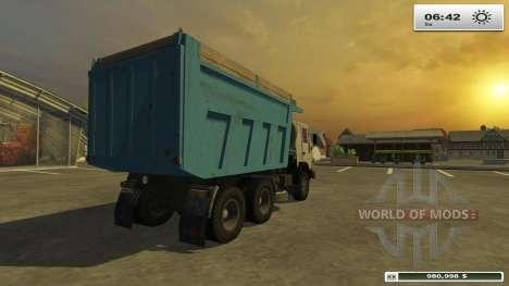 KAMAZ-45143 pour Farming Simulator 2013