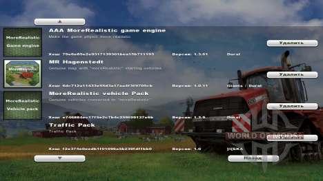 moreRealistic v1.3.61 pour Farming Simulator 2013