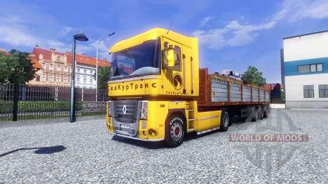 Die Haut Securetrans auf Traktor Renault für Euro Truck Simulator 2