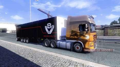 Farbe Schmitz Scania V8 für semi-trailer für Euro Truck Simulator 2