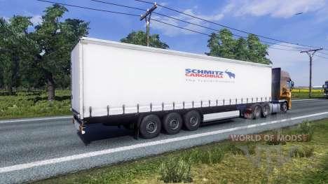 Farbe für Auflieger Schmitz für Euro Truck Simulator 2