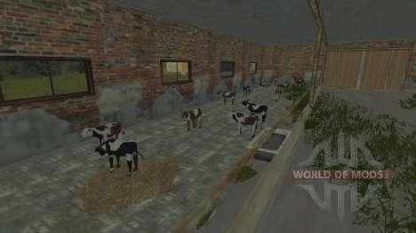 Die Stifte für die Kühe und Schweine für Farming Simulator 2013