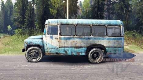 KAvZ-685 für Spin Tires