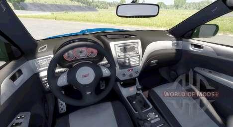 Subaru Impreza WRX STI 2008 pour BeamNG Drive