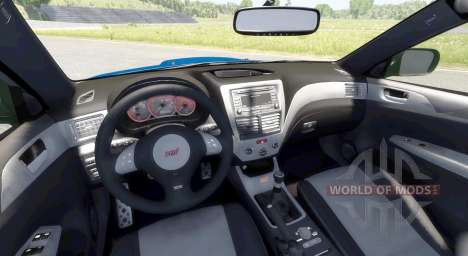 Subaru Impreza WRX STI 2008 für BeamNG Drive