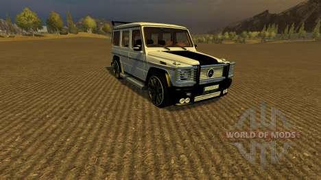 Mercedes Benz G65 AMG v2 pour Farming Simulator 2013