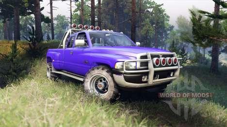 Dodge Ram 3500 für Spin Tires