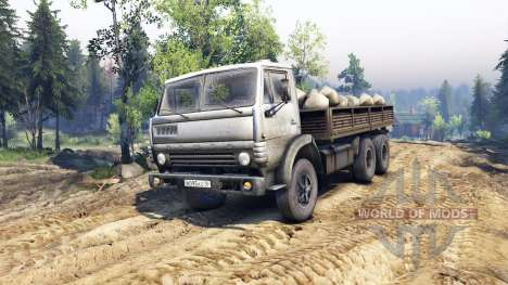 KamAZ-55102 v4.0 pour Spin Tires