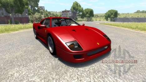 Ferrari F40 pour BeamNG Drive