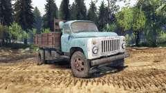 GAZ-53 blau