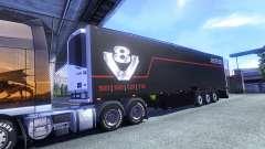 Farbe Schmitz Scania V8 für semi-trailer
