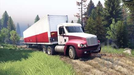 Freightliner Century Class Day Cab für Spin Tires