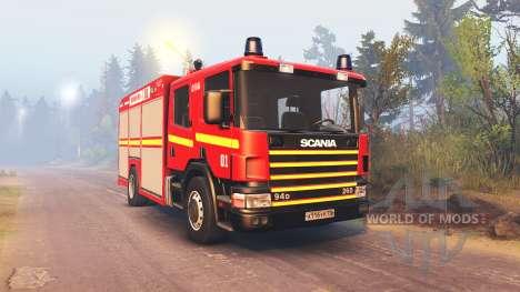 Scania 260 и Mercedes-Benz Sprinter pour Spin Tires