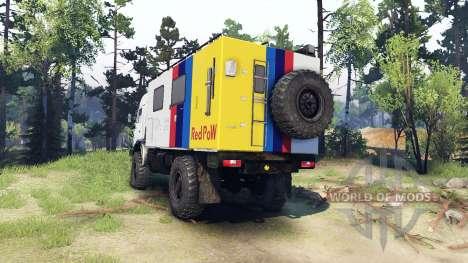 KamAZ-4326 für Spin Tires